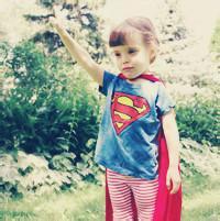 超人头像男生小孩子的 他的她与她的他